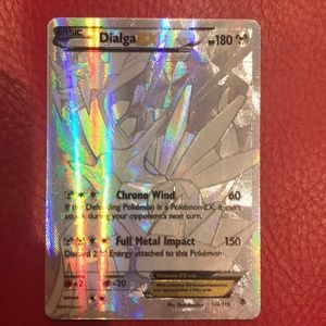Basic Dialga EX Pokémon Card